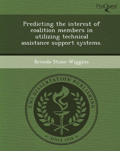 Predicting the Interest of Coalition Members in Utilizing Technical Assistance Support Systems.