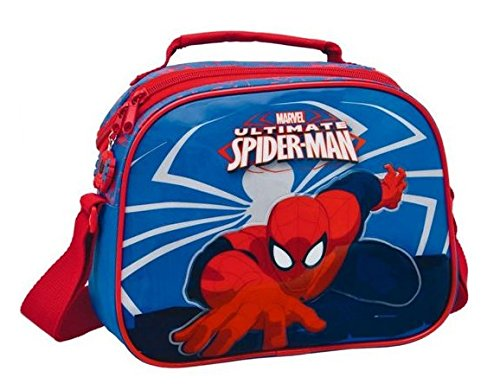 "Spiderman ""Ultimate"" Borsa Portamerenda Tracolla"