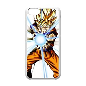 Dragon Ball Z GOKU Fight Bo Printed Hard Plastic Case Cover for iPhone 5c