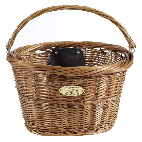 Nantucket Bike Basket Co. Jetties Collection Bicycle Basket