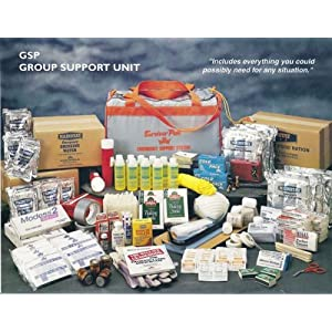 72 Hour Emergency Survival Kit for 10 People