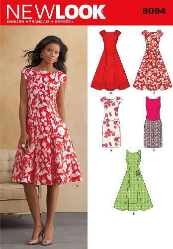New Look U06094A Misses Dresses Sewing Pattern (New Sewing Patterns compare prices)