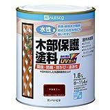 カンペハピオ 水性木部保護塗料 マホガニー 1.6L