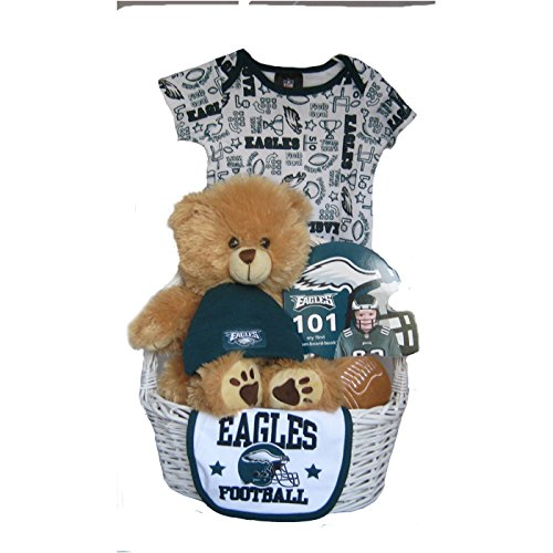 half off c193d 6d40f Philadelphia Eagles Baby Gift Basket - Christmas and New ...