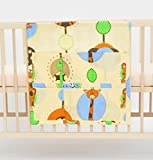 Cot bed TIDY POCKET ORGANISER approx 60x60cm nursery bedding baby toddler pattern in the ZOO