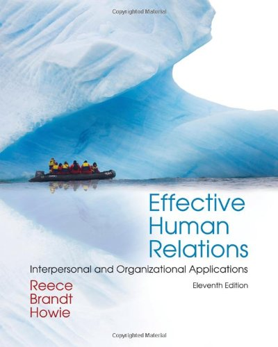 Effective Human Relations: Interpersonal and...