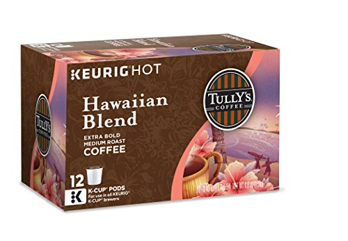 Tully's Coffee Hawaiian Blend, Keurig K-Cups, 72-Count (Keurig Hawaiian compare prices)