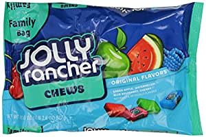 Jolly Rancher Chews, Assortment, 18.6 Ounce (Pack of 12)