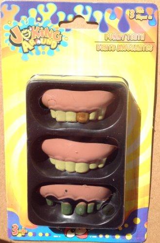 Joke Gross False Teeth Gag by Joking Around - 1