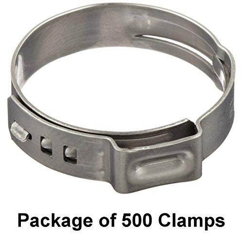 6 Pack Earls 170204ERLP 1//4 Polished Aluminum Line Clamp