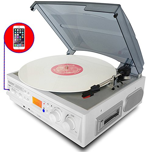 boytone-bt-37wt-c-white-color-limited-edition-3-speed-stereo-turntable-2-built-in-speakers-lcd-displ