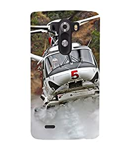 Vizagbeats helicopter Back Case Cover for LG G3::LG G3 D855