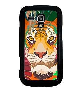 Printvisa Ultra Lion 2D Hard Polycarbonate Designer Back Case Cover for Samsung Galaxy S Duos...