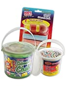 Bucket Of Mini Sidewalk Chalk 60/Pkg-Assorted Colors