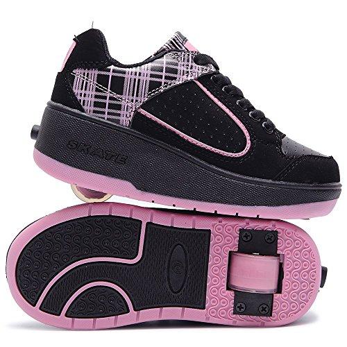 HUSK'SWARE Unisex Aumentare Sneakers Donna Uomo Ruote Scarpe Pattini Sportive Bambino Shoes