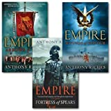 Anthony Riches Empire collection series 3 books set. (Wounds of Honour, Arrows of Fury & Fortress of Spears)