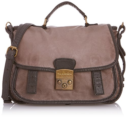 Paul & Joe Sister Chloe Anthracite, Borsa messenger donna