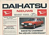 1977 Daihatsu Charmant Taft Brochure Dutch Netherlands