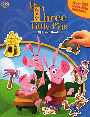 The Tree Little Pigs Sticker Book with Over 50 Stickers - 1