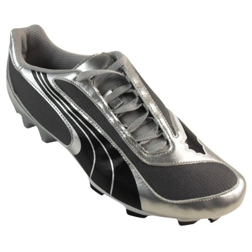 Mens Puma V5 08 SL FG Silver Firm Ground Football Boots Soccer Cleats Boot UK 11