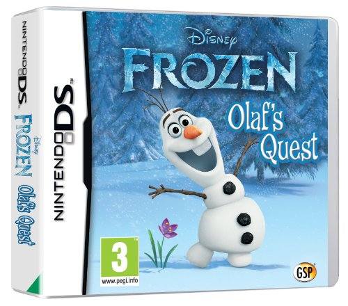Disney Frozen: Olaf's Quest (Nintendo DS) (UK) (Frozen Olafs Quest Nintendo Ds compare prices)