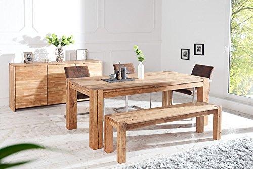 massiver esstisch wild oak 240 cm ge lt made in eu holztisch tisch massivholz com forafrica. Black Bedroom Furniture Sets. Home Design Ideas
