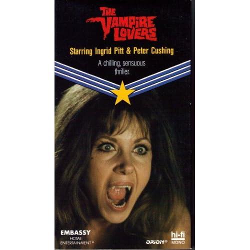 Amazon.com: The Vampire Lovers [VHS]: Ingrid Pitt, Pippa Steel