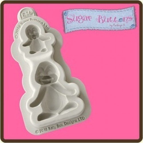 pulsanti-di-zucchero-cupcake-glassa-fondente-decorazione-stampo-stampo-pinguini