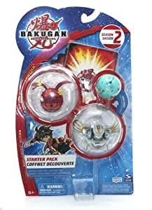 "Bakugan Battle Brawlers Season 2 Bakuneon Series, New Vestroia Starter Pack - "" NOT Randomly Picked"", Shown As In The Picture!(f)"