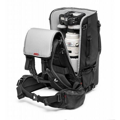 manfrotto カメラリュック Pro-lightコレクション PL TLB-600レンズバックパック 25L エレメントカバー付属 三脚取付け可 ブラック MB PL-TLB-600