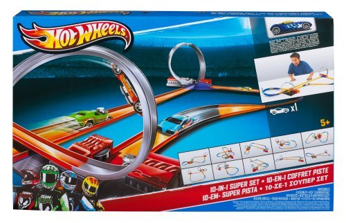 Hot Wheels 10-in-1 Track Set