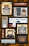 Laundry Room Essentials Decorative Switchplate Cover