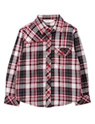 Yarn Dyed Check Shirt Red Check - B00OXWEV06