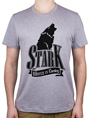 De-Juego-De-Tronos-Stark-Winter-Is-Coming-Camiseta-para-hombre
