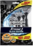 Wilkinson Xtreme 3 - 10 Rasoirs Jetables Black Edition