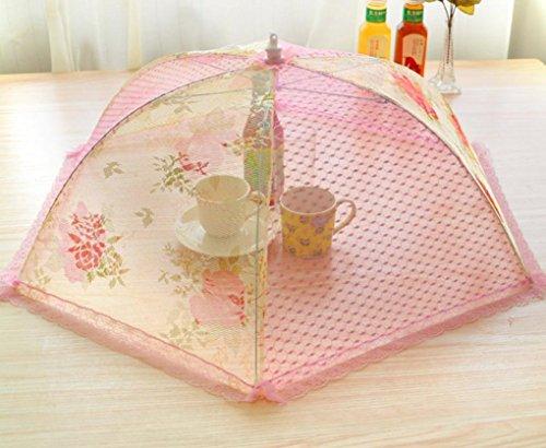 nourriture-de-table-couvert-et-etanche-a-la-poussiere-et-moustique-pliage-parapluie-dentelle-moutard