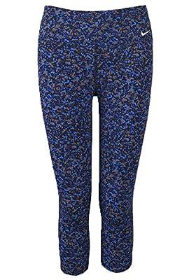 Nike Womens Legend 2.0 Dri-FIT Print Capris Leggings Blue