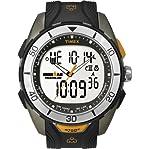 Timex Men's T5K4029J Ironman 50-Lap Dual-Tech Silver Case Sports Watch