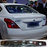 Bright Chrome TRUNK LID STRIP TRIM COVER fit for 2012 12 NISSAN VERSA SEDAN