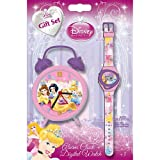 Disney Princess Watch and Clock Gift Set