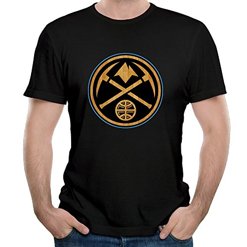 denver-nuggets-black-hardwood-basketball-short-sleeve-cotton-tee-shirts