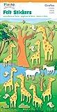 Fiesta Crafts Giraffe Felt Stickers Pack of 6
