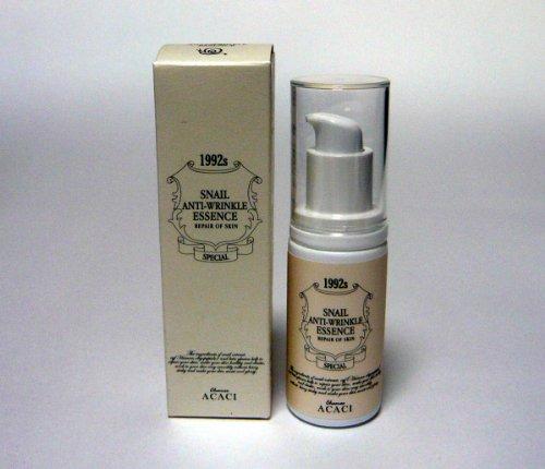 韓国スネイルコスメ Snail Repair Skin Care 皮膚再生化粧品 カタツムリエキス配合 エッセンス ( ) Snail AntiーWrinkle Essence 45ml CHAMOS ACACI
