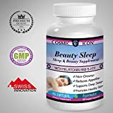 Sleep Aid Supplement pills with melatonin a pure natural better sleeping medicine for adults