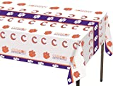 Creative Converting Clemson Tigers Plastic Banquet Table Cover at Amazon.com