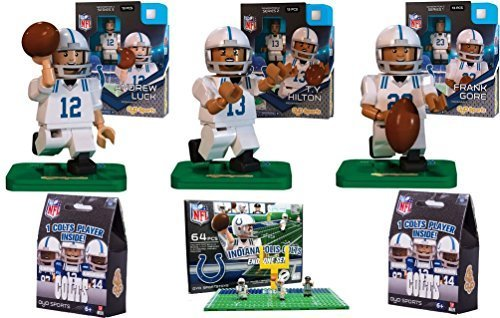 oyo-sports-nfl-bundle-pack-indianapolis-colts-set-1-andrew-luck-ty-hilton-frank-gore-colts-end-zone-