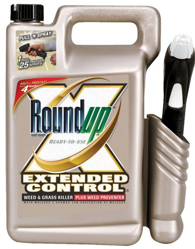 Roundup 5700010 1.33-Gallon Extended Control Weed & Grass Killer Plus Weed Preventer Pull 'N Spray
