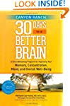 Canyon Ranch 30 Days to a Better Brai...