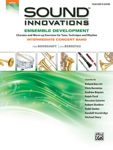 Sound Innovations for Concert Band -- Ensemble Development: Conductor's Score (Score) (Sound Innovations Series for Band