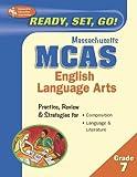 MCAS English Language Arts, Grade 7 (Massachusetts MCAS Test Preparation) (0738602388) by Editors of REA